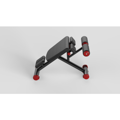 Abdominal Bench Red 2