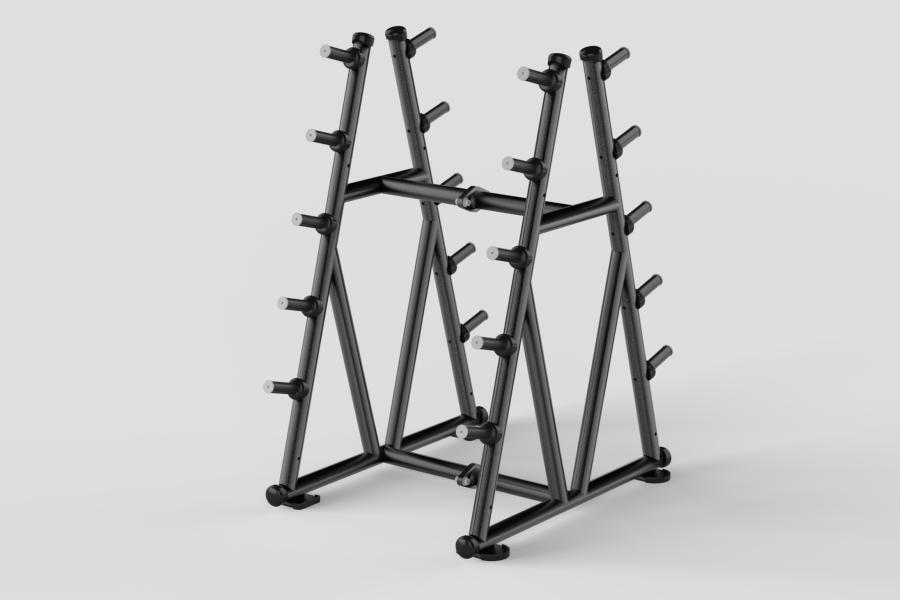 Barbell Rack Black