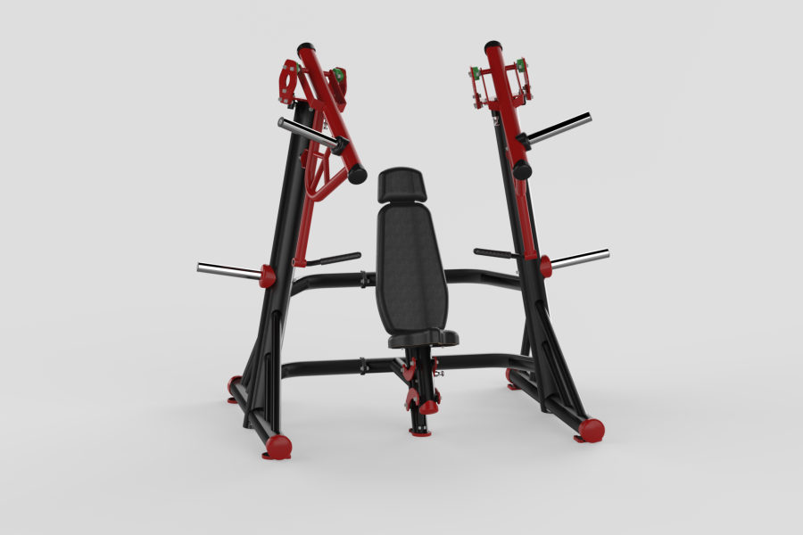 Chest Press Free Red