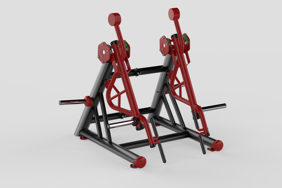 Dead Lift Red
