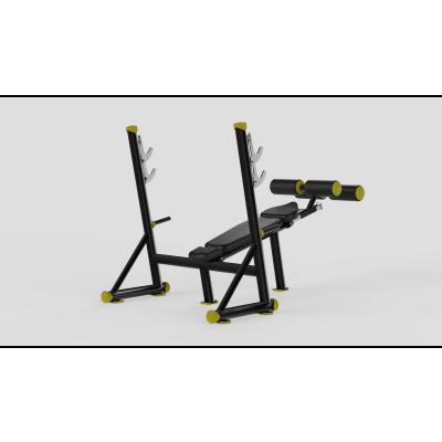 Decline Bench Press Yellow 2