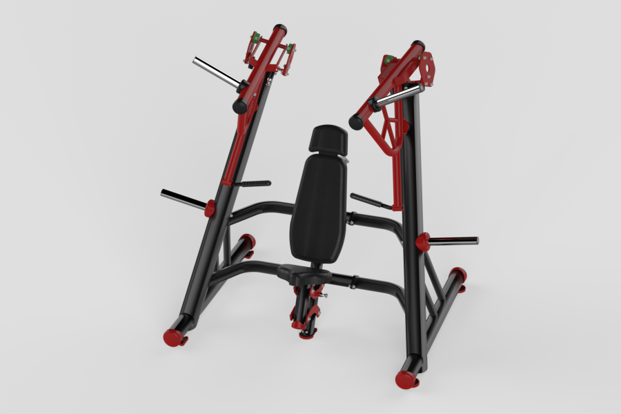 Incline Chest Press Red 2