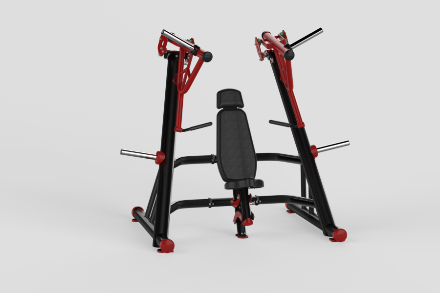 Incline Chest Press Red