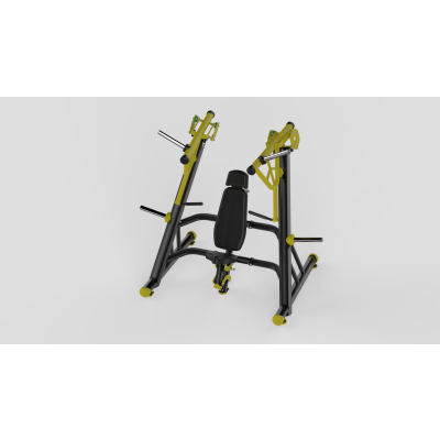 Incline Chest Press Yellow 2