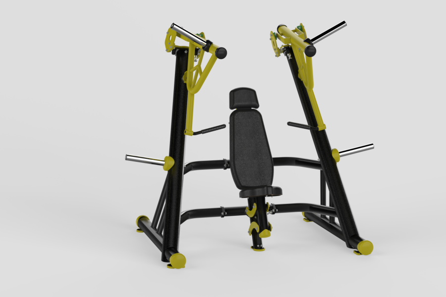 Incline Chest Press Yellow