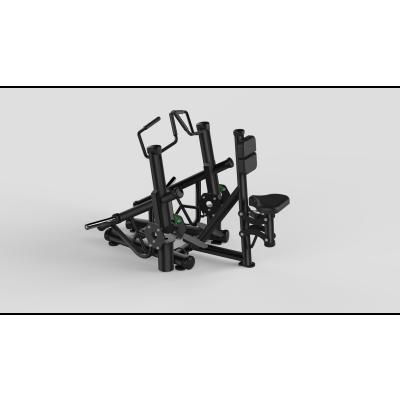 Seated Row Black