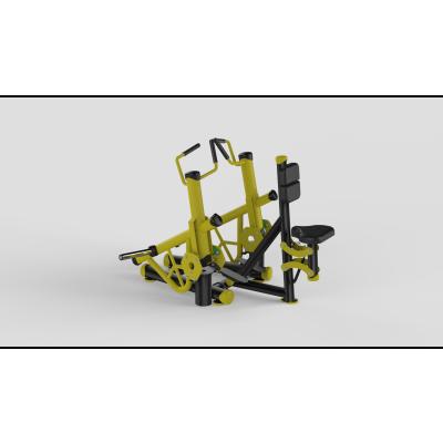 Seated Row Yellow