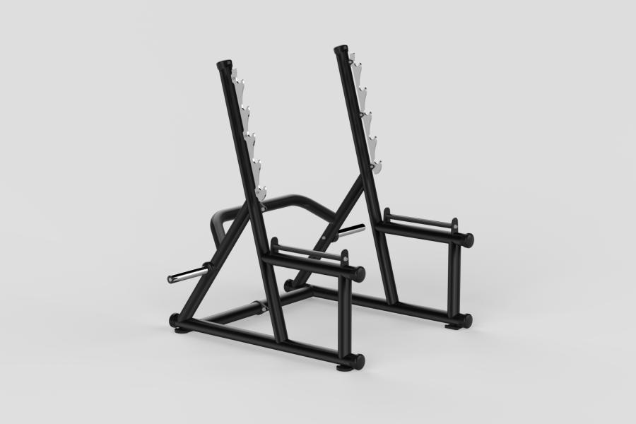 Squat Rack Black