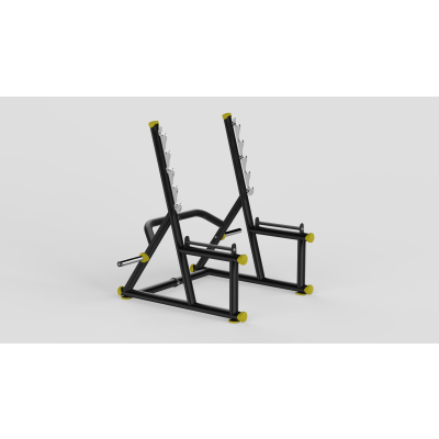 Squat Rack Yellow