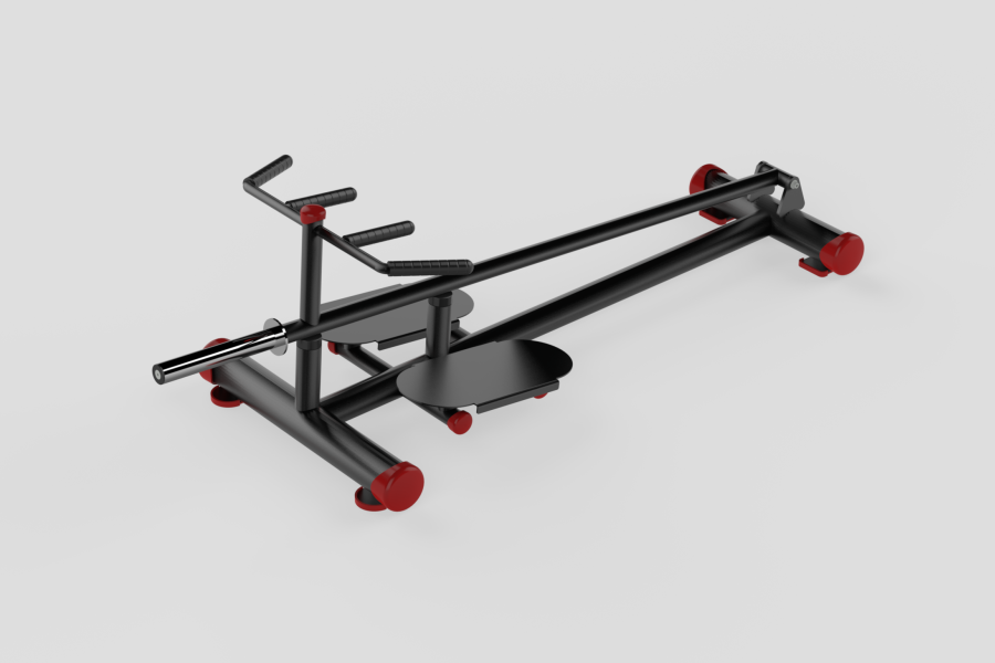 TBar Rowing Red