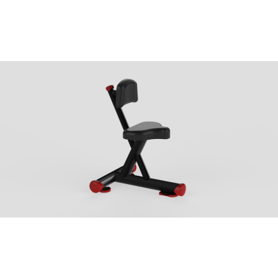 Utility Bench Red 2